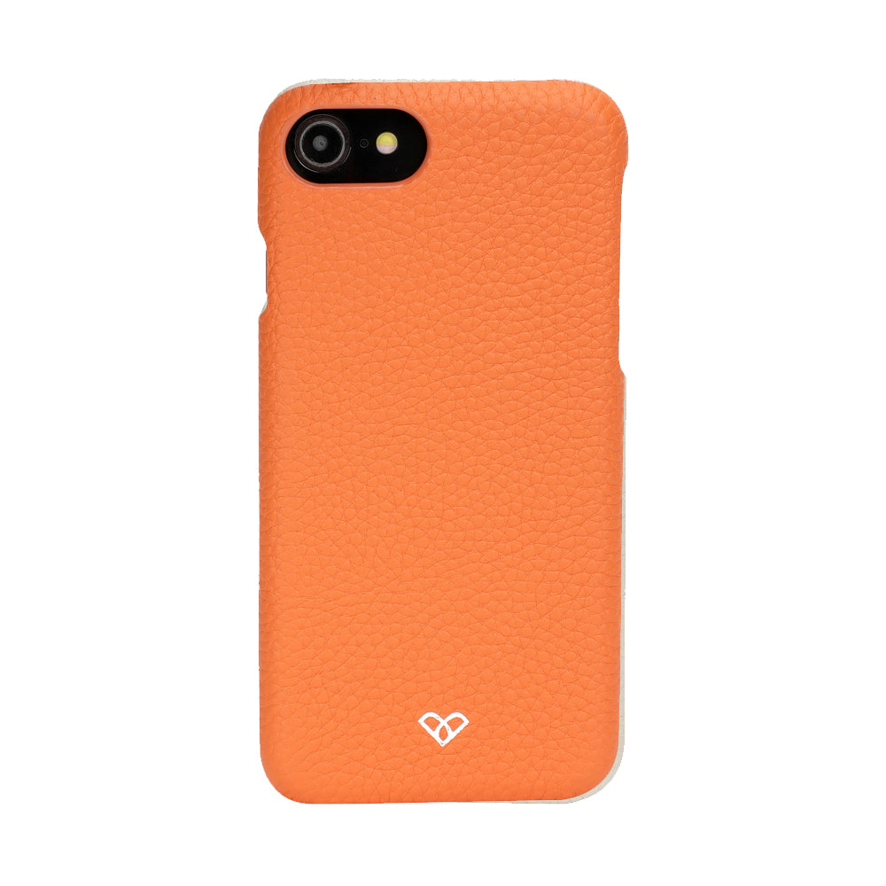 iPhone 8 Leather Cases And Covers-Zesty Orange