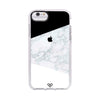 Geometric White Marble Impact Case And Cover For iPhone 6S