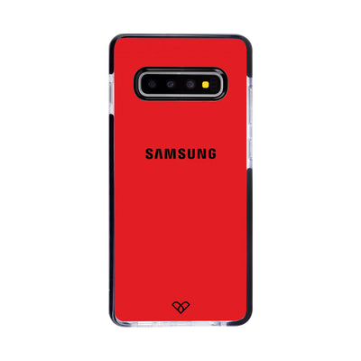 Red Impact Case And Cover For Galaxy S10