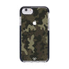 Brown Abstract Camouflage Impact Case And Cover For iPhone 8
