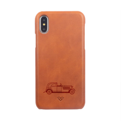 Bentley 3.5 L (1933) iPhone XS Max Leather Cases