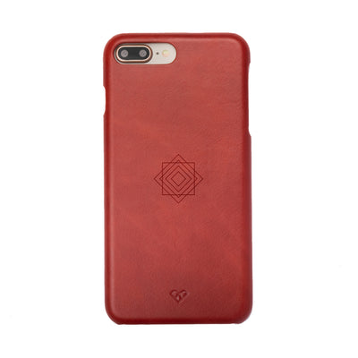 Square Monogram iPhone 7 Plus Leather Cases