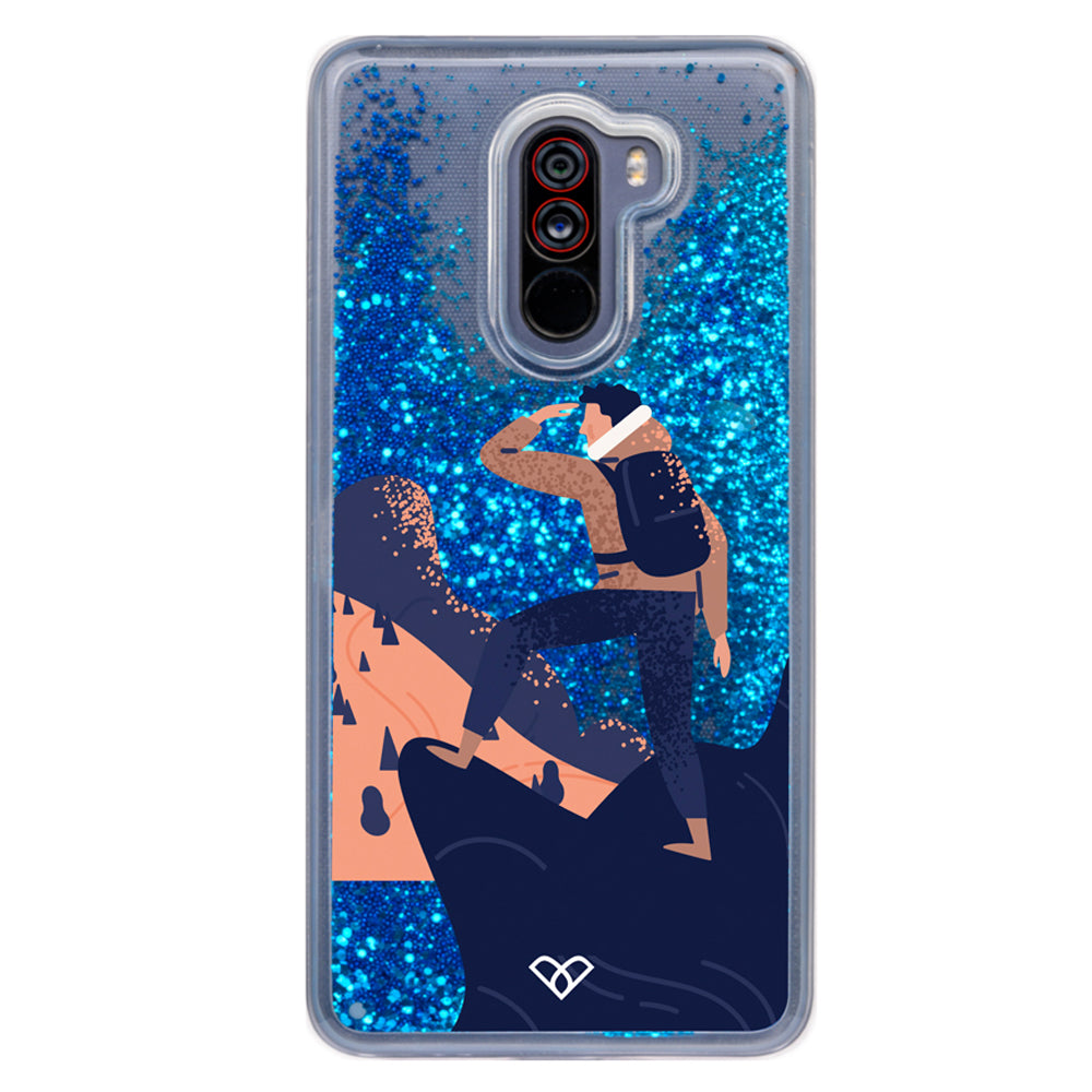 The Adventurer Glitter Case And Cover For Poco F1