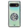 Arc Troopers Emblem Neon Sand Liquid Case And Cover For Galaxy S10