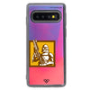 Arc Trooper Neon Sand Liquid Case And Cover For Galaxy S10