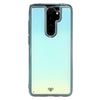 Redmi Note 8 Pro Neon Sand Liquid Glow Cases-Blue-White