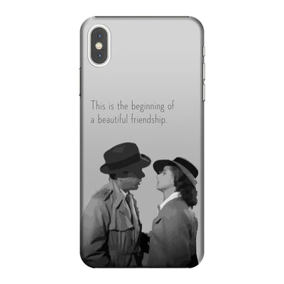 A Beautiful Friendship Slim Case And Cover For Iphone Xs Max