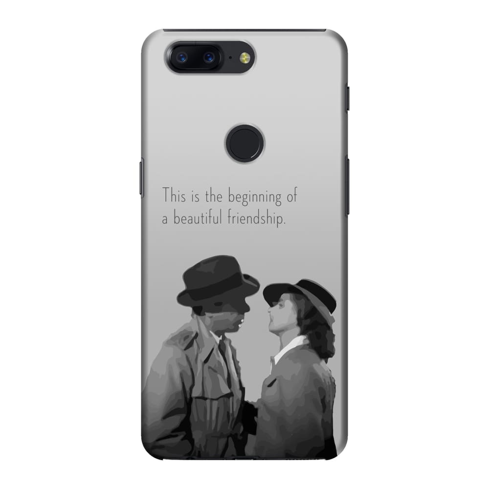 info for eab3e 328a7 A Beautiful Friendship Slim Case And Cover For Oneplus 5T