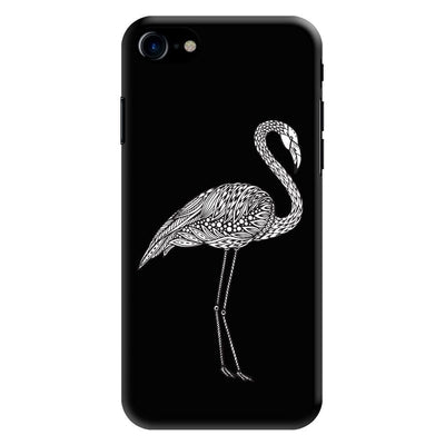 A Flamboyant Flamingo Designer Slim Case And Cover For iPhone 8