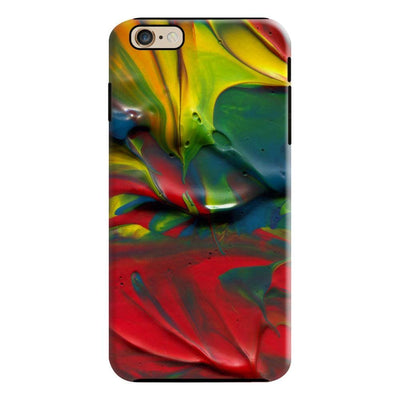 Abstract Brush Strokes Slim Case For iPhone 6 Plus