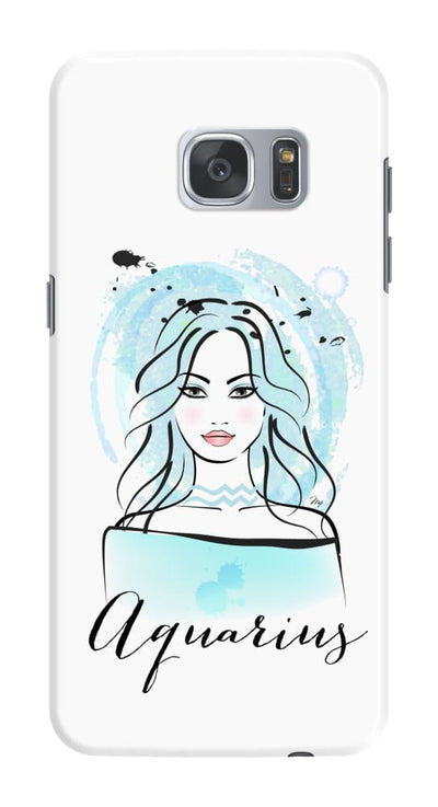 Aquarius by Martina Pavlova Slim Case For Galaxy S7 Edge