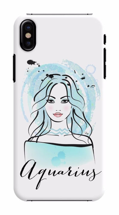 Aquarius by Martina Pavlova Slim Case For iPhone X