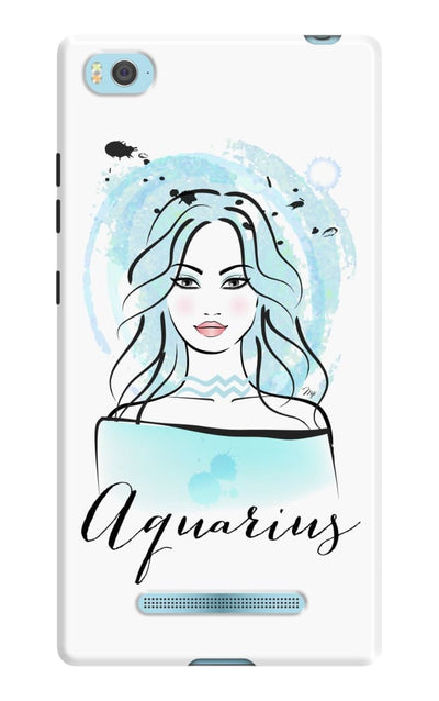 Aquarius By Martina Pavlova Slim Case For Mi 4I
