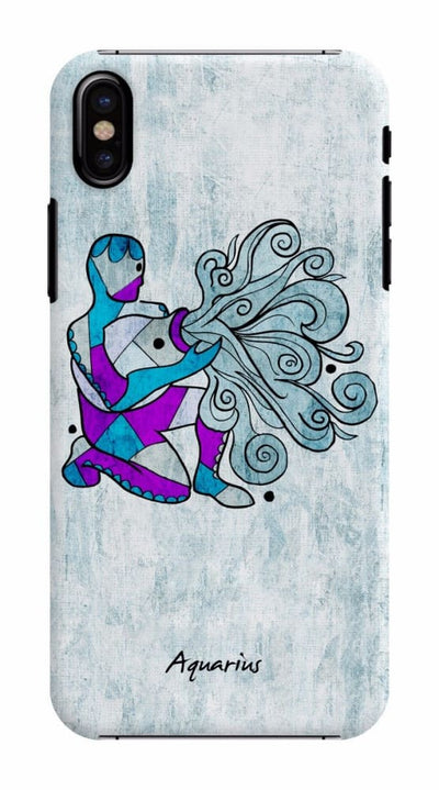 Aquarius by Roly Orihuela Slim Case For iPhone X