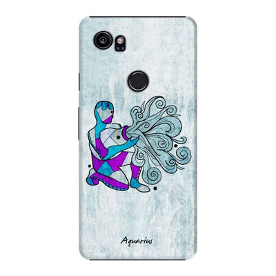 Aquarius by Roly Orihuela Slim Case For Pixel 2 XL