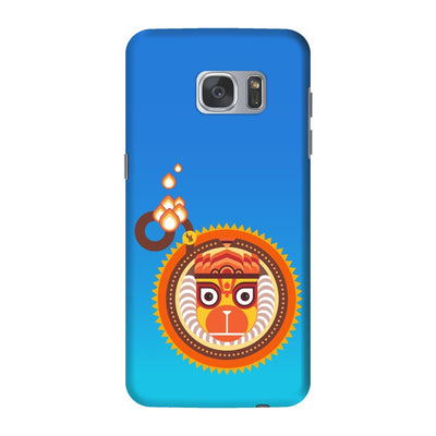 BAJRANGBALI-THE ONE WHO IS UNBEATABLE Slim Case And Cover For GALAXY S7