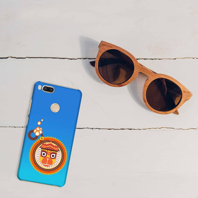 BAJRANGBALI-THE ONE WHO IS UNBEATABLE Slim Case And Cover For REDMI MI A1