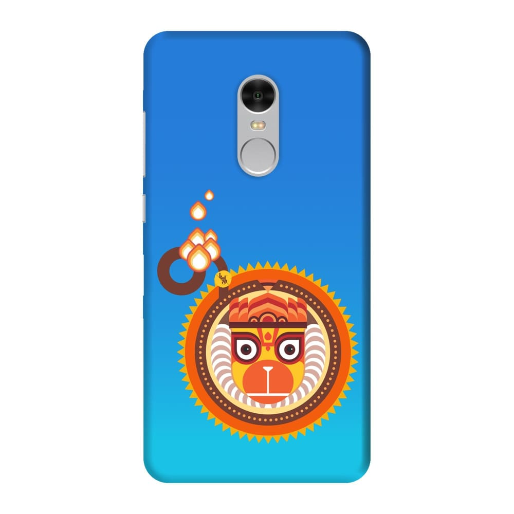 BAJRANGBALI-THE ONE WHO IS UNBEATABLE Slim Case And Cover For REDMI NOTE 4