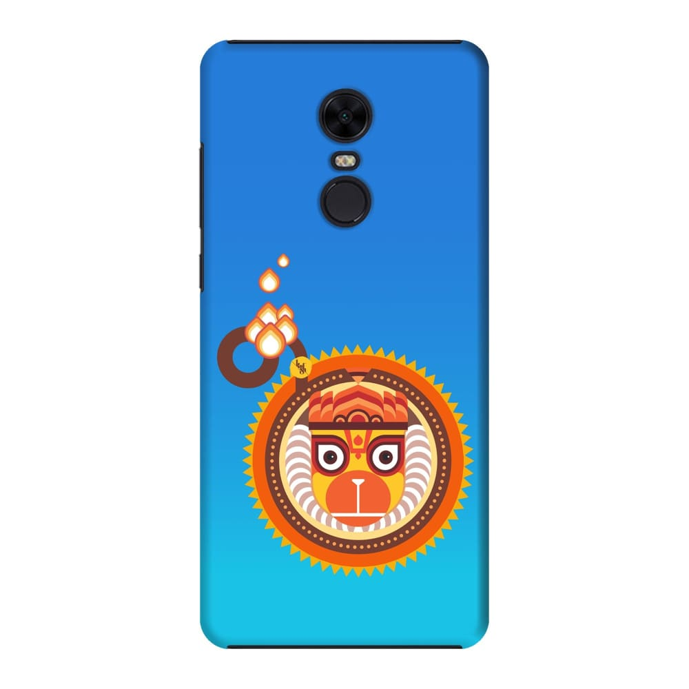 BAJRANGBALI-THE ONE WHO IS UNBEATABLE Slim Case And Cover For REDMI NOTE 5