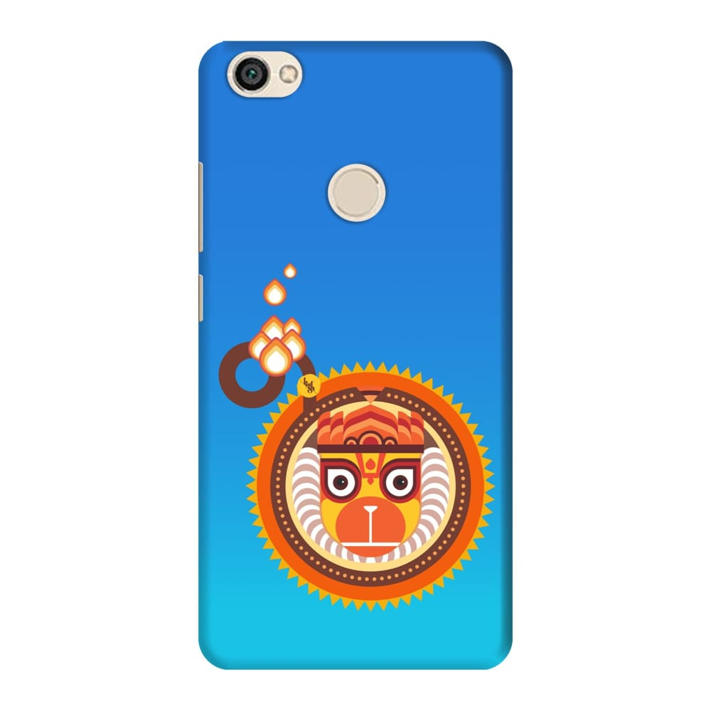 BAJRANGBALI-THE ONE WHO IS UNBEATABLE Slim Case And Cover For REDMI Y1