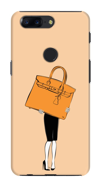 Big Orange Bag Slim Case And Cover For Oneplus 5T