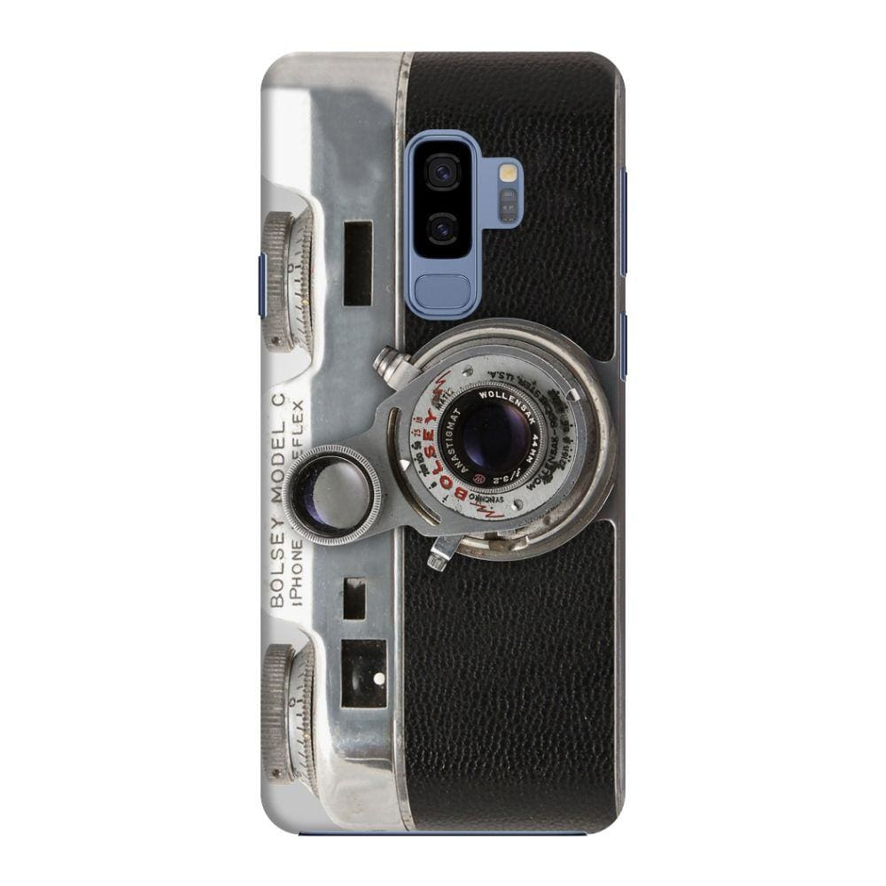 Bolsey Model C Vintage Camera Slim Case And Cover For Galaxy S9 Plus