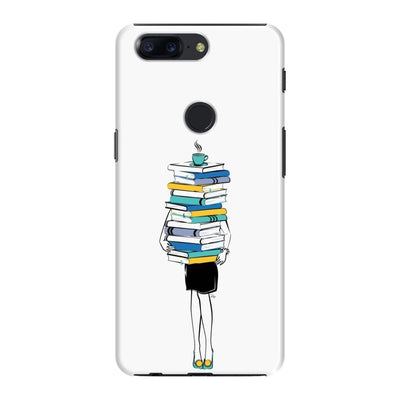 Books + Coffee = Life Slim Case And Cover For Oneplus 5T