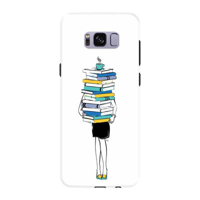 Books + Coffee = Life Slim Case For Galaxy S8