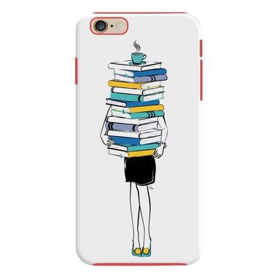 Books + Coffee = Life Slim Case For Iphone 6S Plus