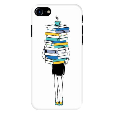 Books + Coffee = Life Slim Case For Iphone 8
