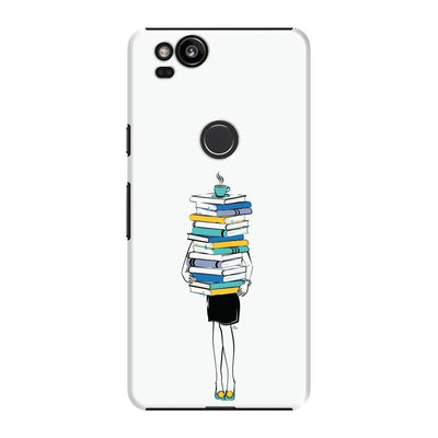 Books + Coffee = Life Slim Case For Pixel 2