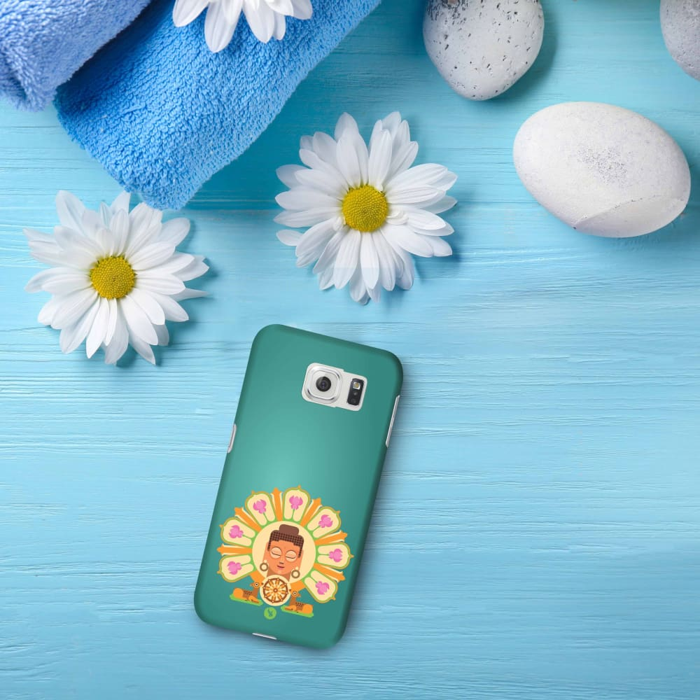BUDDHA-THE ONE WHO IGNITES Slim Case And Cover For GALAXY S6