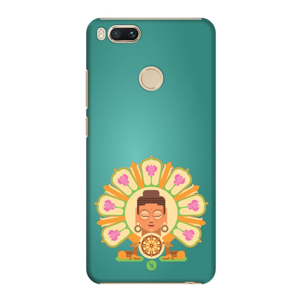 BUDDHA-THE ONE WHO IGNITES Slim Case And Cover For REDMI MI A1