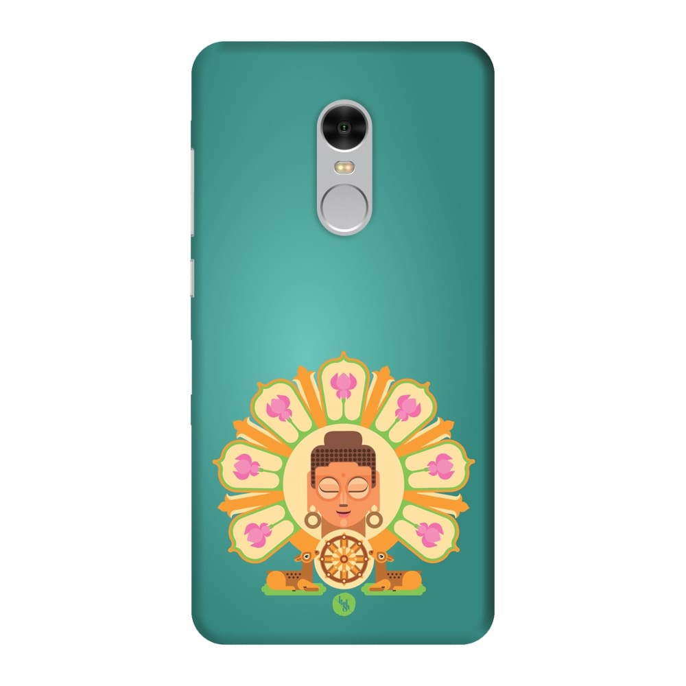 BUDDHA-THE ONE WHO IGNITES Slim Case And Cover For REDMI NOTE 4