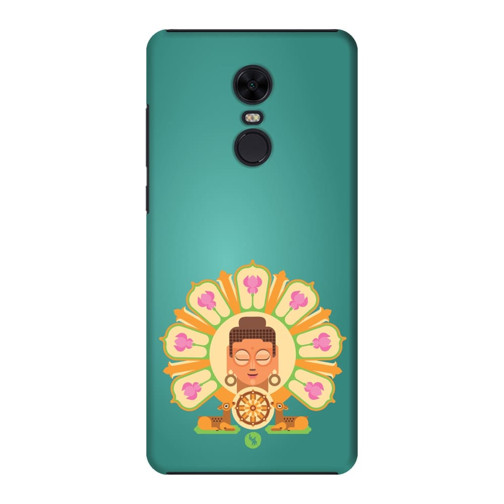 BUDDHA-THE ONE WHO IGNITES Slim Case And Cover For REDMI NOTE 5