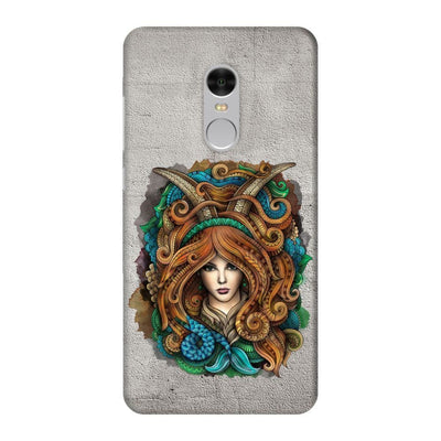 Capricorn By Olka Kostenko Slim Case For Redmi Note 4