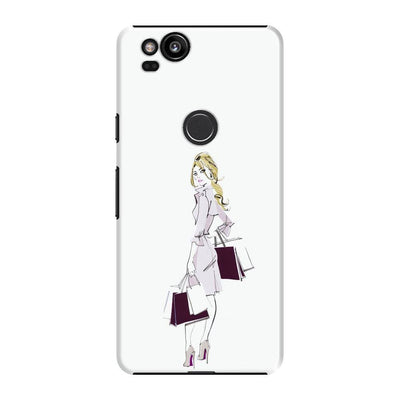 Chic Shopping Slim Case For Pixel 2