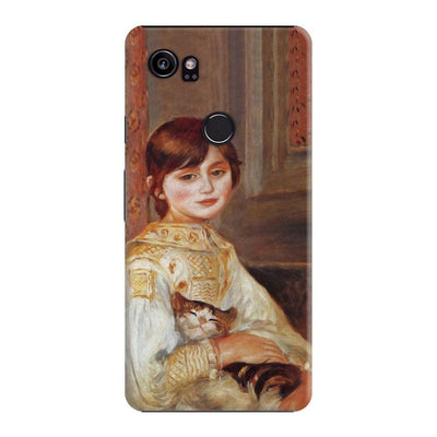 Child With Cat Slim Case For Pixel 2 XL