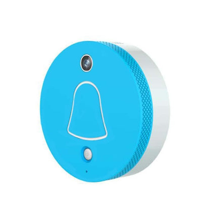 CleverDog Door Bell System - app-based visitor recognition and access control - Blue