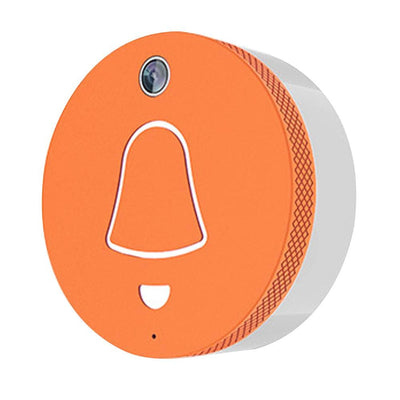 CleverDog Door Bell System - app-based visitor recognition and access control - Orange