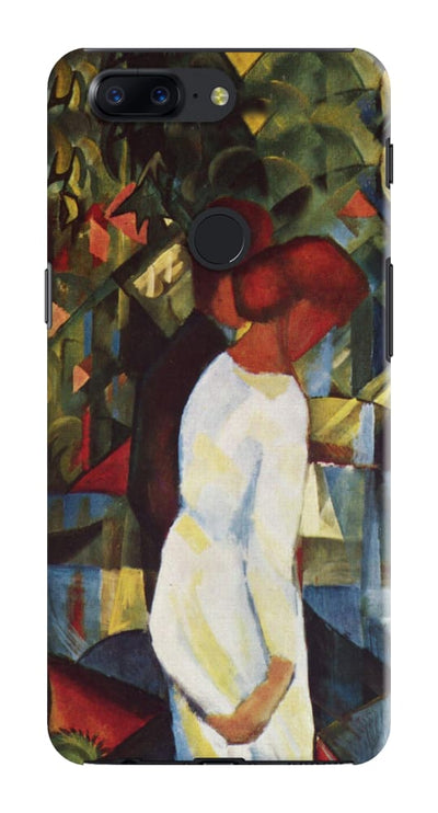 Couple In The Woods Oil On Canvas 1912 Slim Case And Cover For Oneplus 5T