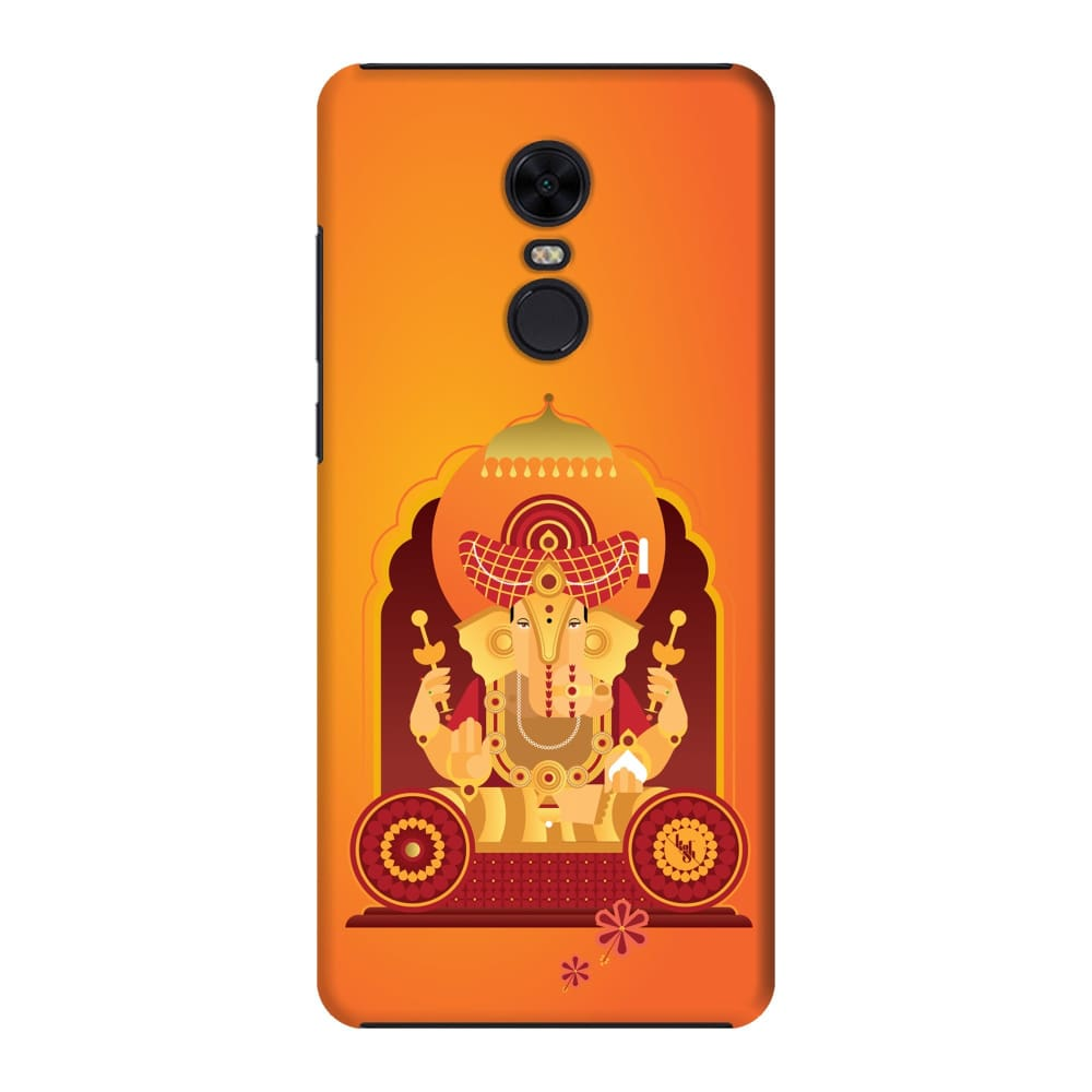DAGADUSHETH-THE ONE WHO SPARKLES Slim Case And Cover For REDMI NOTE 5