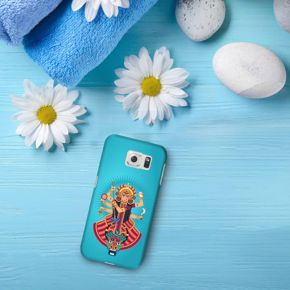 DURGA-THE ONE WHO PROTECTS Slim Case And Cover For GALAXY S6