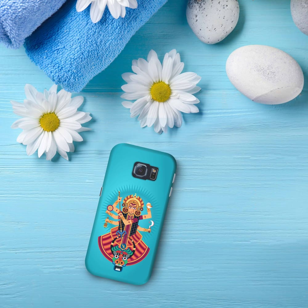 DURGA-THE ONE WHO PROTECTS Slim Case And Cover For GALAXY S6 EDGE