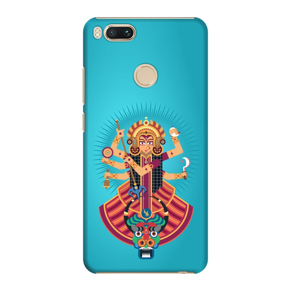 DURGA-THE ONE WHO PROTECTS Slim Case And Cover For REDMI MI A1