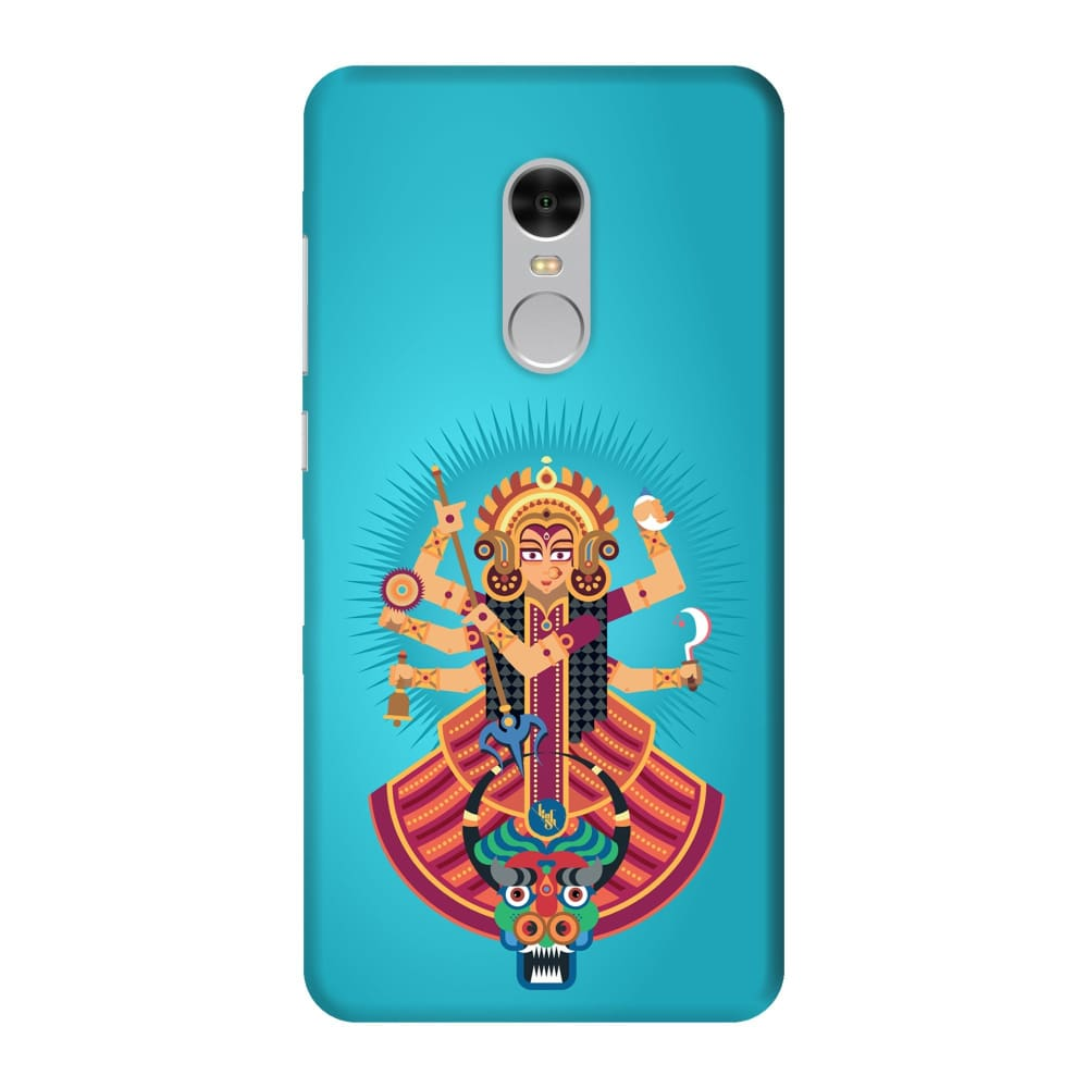 DURGA-THE ONE WHO PROTECTS Slim Case And Cover For REDMI NOTE 4