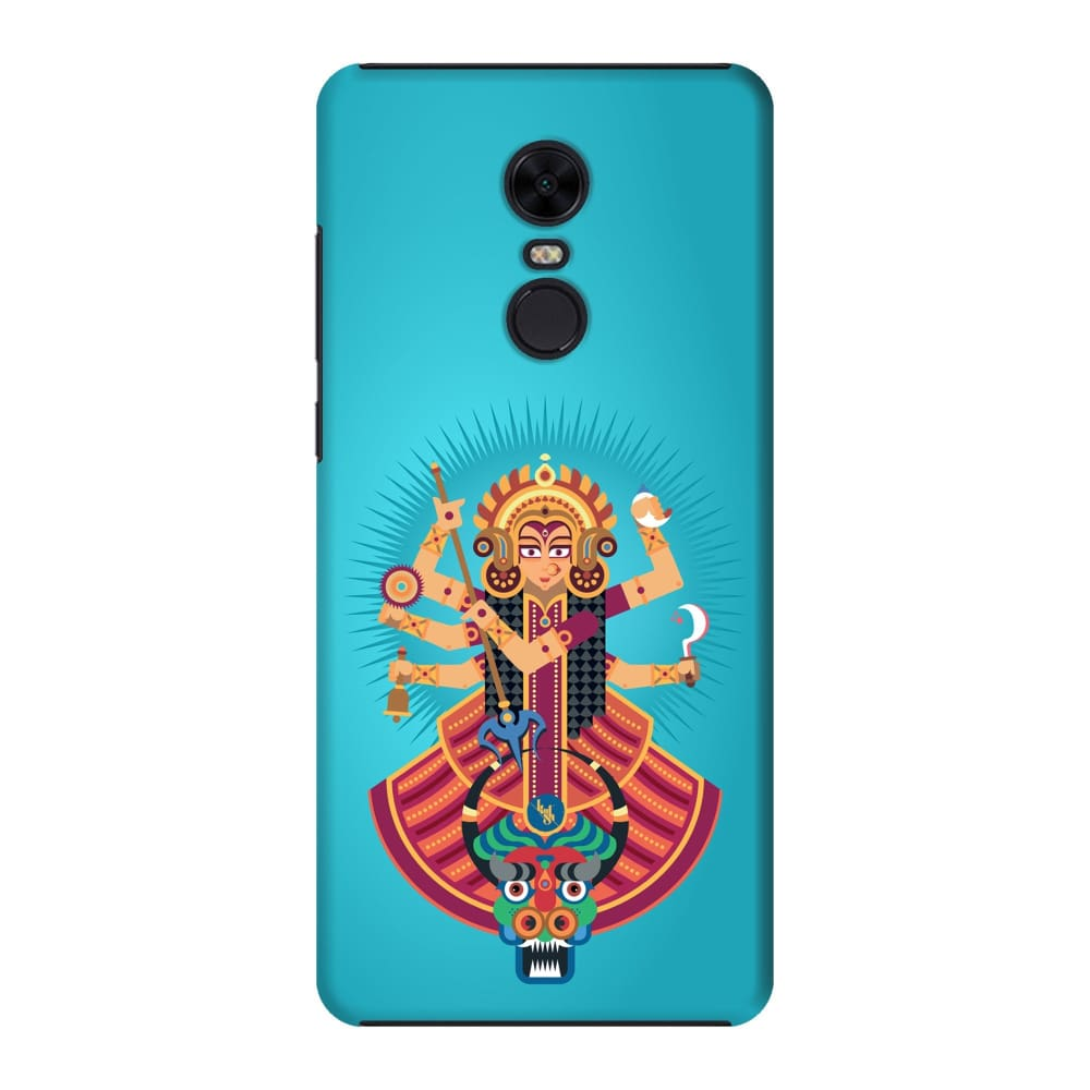 DURGA-THE ONE WHO PROTECTS Slim Case And Cover For REDMI NOTE 5