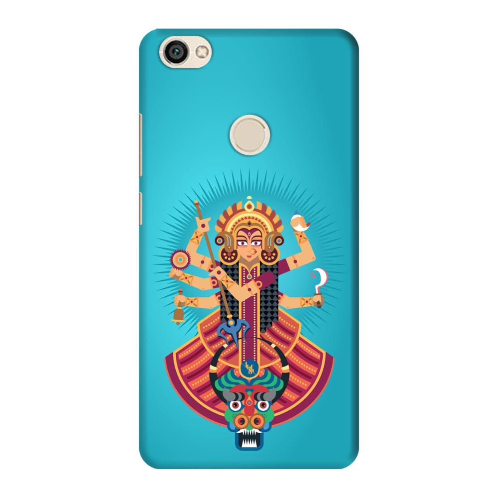 DURGA-THE ONE WHO PROTECTS Slim Case And Cover For REDMI Y1