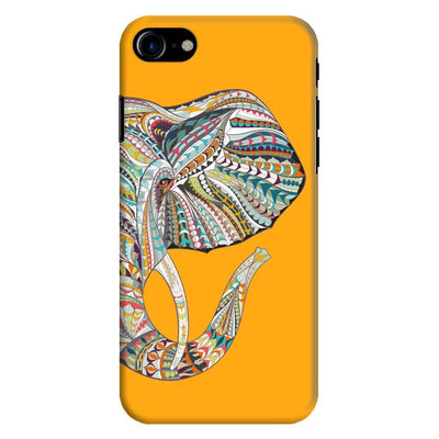 Elephant-The Mighty Humble Being Slim Case And Cover For Iphone 8 - Yellow