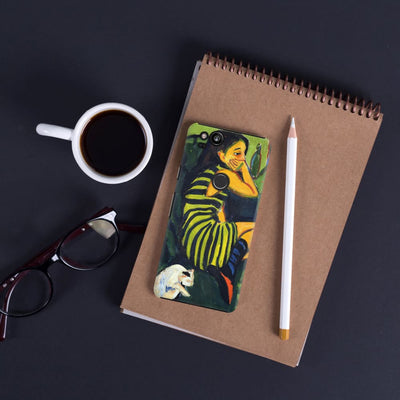 Female Artist 1910 Slim Case For Pixel 2